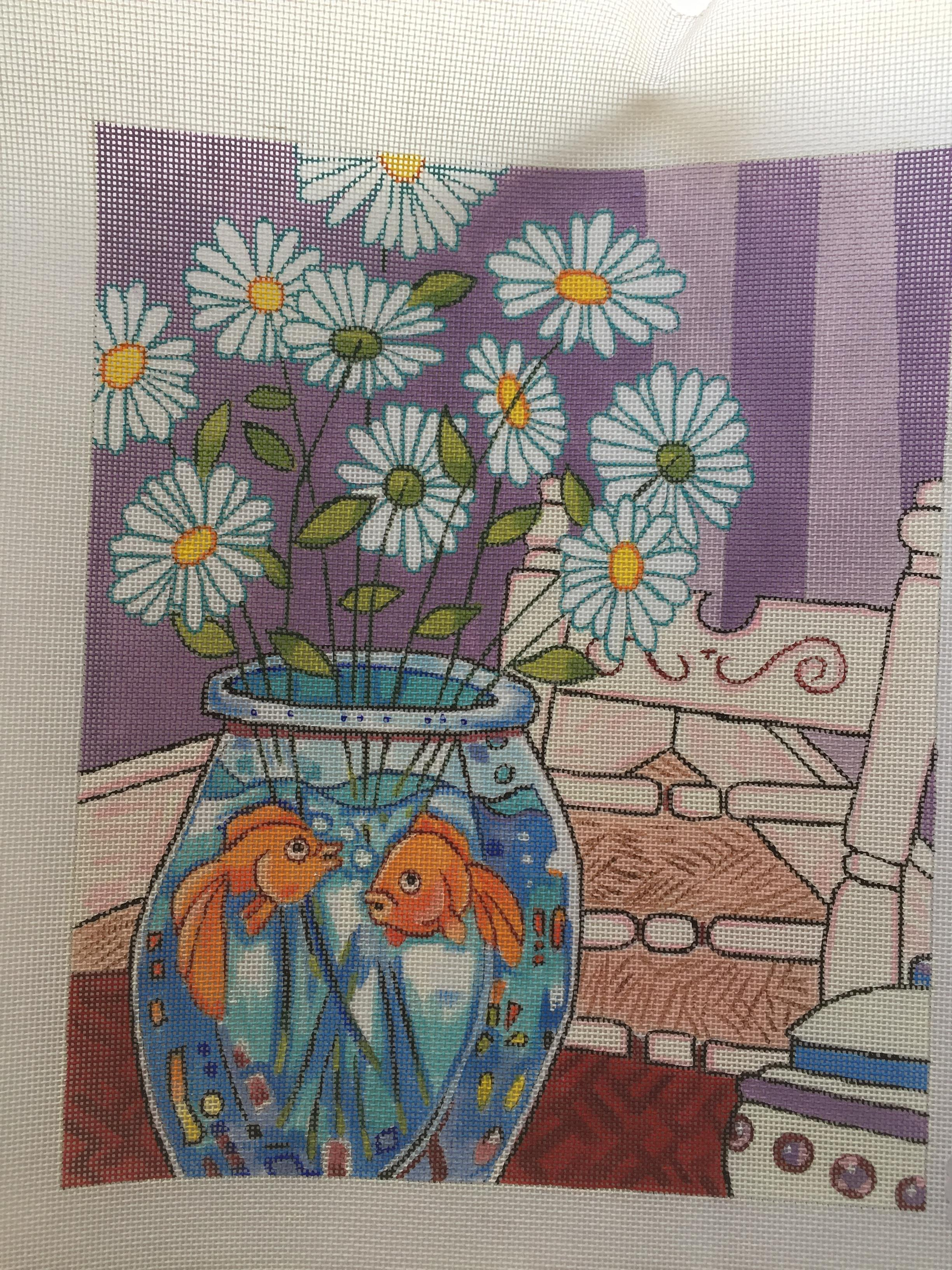 Daisies in a Fishbowl
