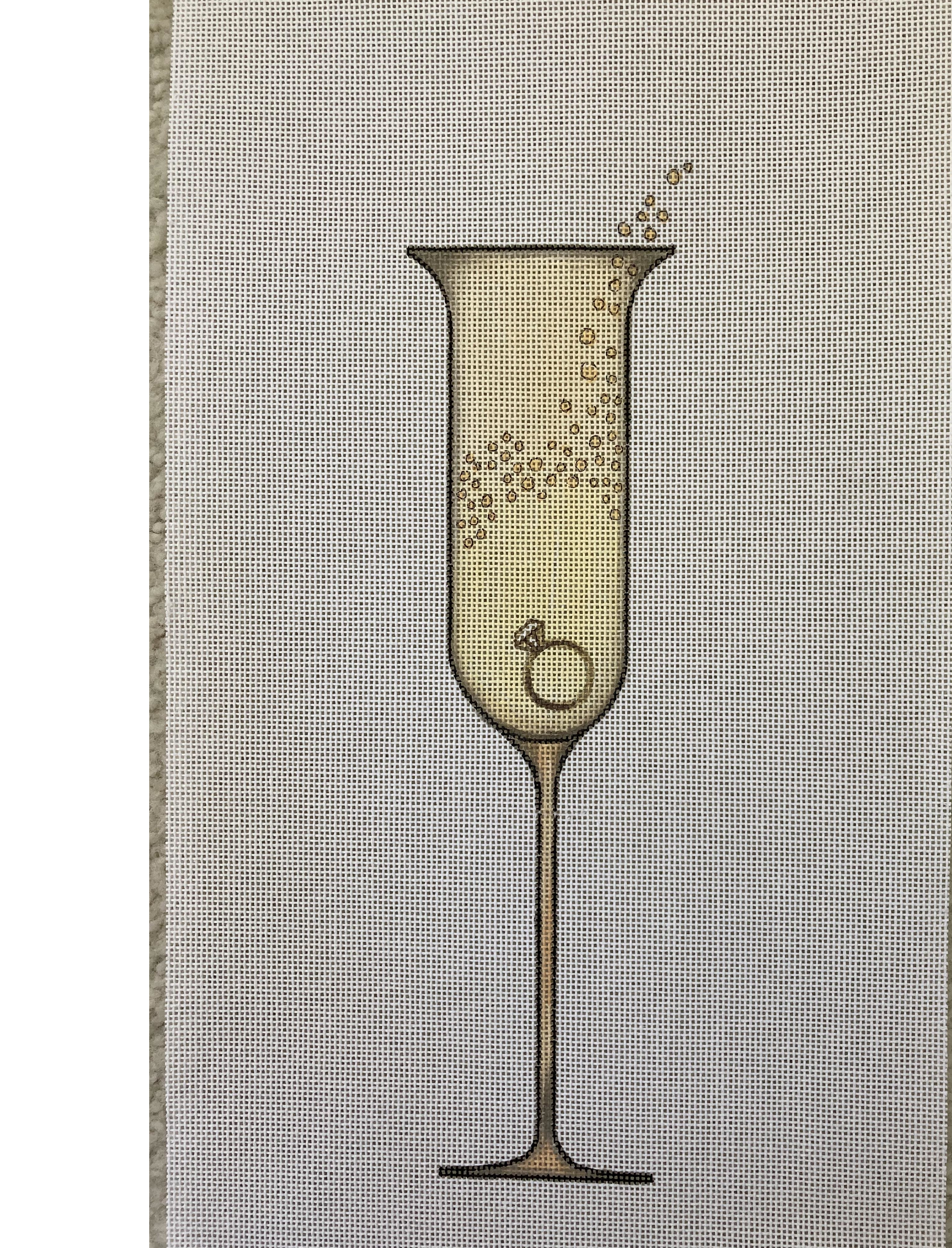 Champagne with Ring