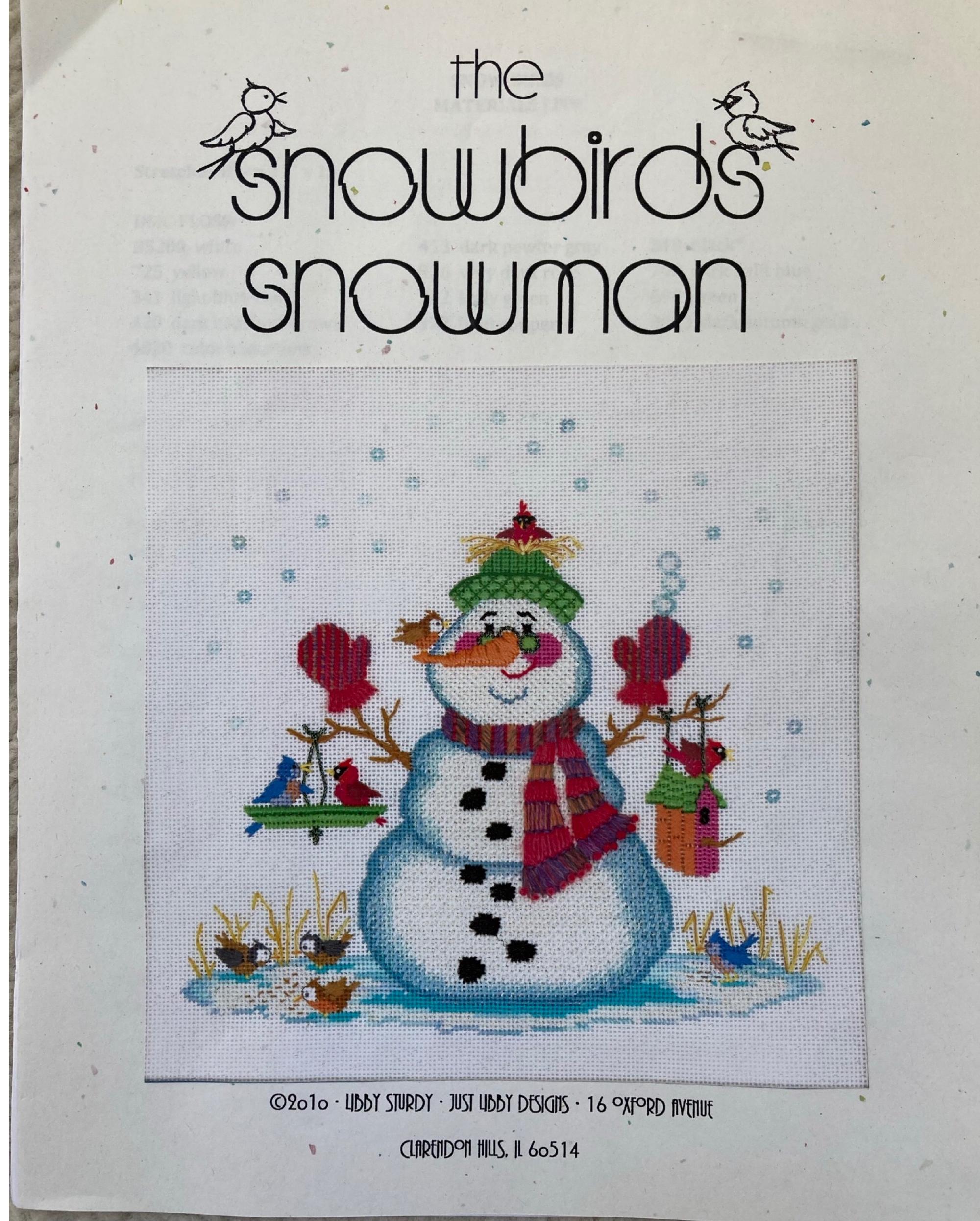 The Snowbirds Snowman